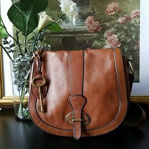 🍁 Fossil Leather Ryder Crossbody Bag 🍁